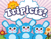 Triplet Bunnies Birth Announcement