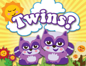 Twin Cats Birth Announcement